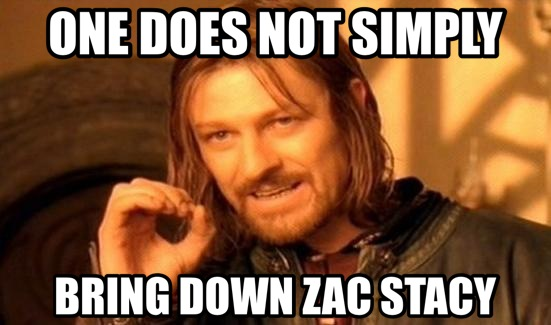 zac stacy meme
